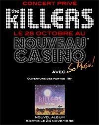 Concert, Paris, The Killers, Nouveau Casino, Day & Age