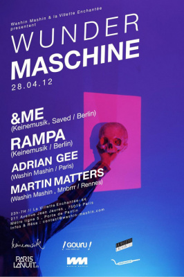 WUNDER MASCHINE w/ &Me, Rampa, Adrian Gee, Martin Matters...