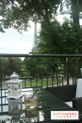 Taisho, la terrasse des Jardins du Trocadéro
