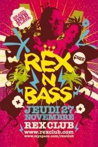 Soirée, Paris, Clubbing, Rex'n Bass, Rex, Marky, Sweed