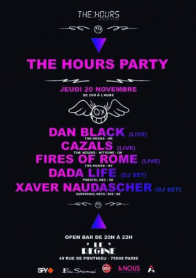 Musique, Concert, Régine, The Hours, Dan Black, Cazals, Dada Life, Fires of Rome.