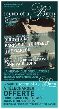 Concert, Paris, Paris Suit Yourself, Mécanique Ondulatoire