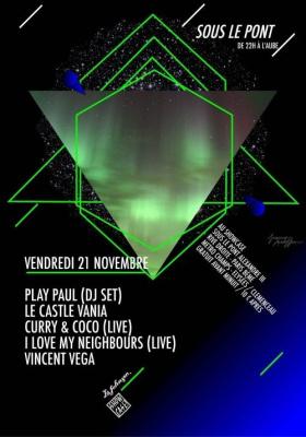 Soirée, Paris, Clubbing, Sous le pont, Showcase, Pont Alexandre 3