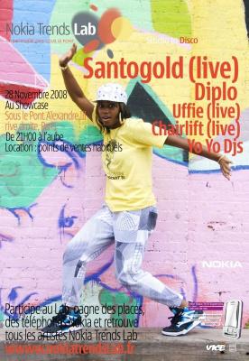 Soirée, Paris, Clubbing, Santogold, Uffie, Diplo, Chairlift, Yo Yo, Sous le pont