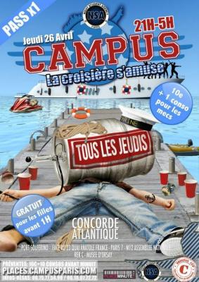 CAMPUS - La Croisière s'amuse