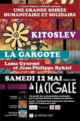 Concert de Solidarité Kitoslev -Assoce Piquante