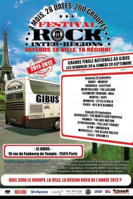 Festival Rock Inter Régions Gibus 2012 / Grande Finale Nationale
