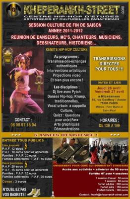 HEPERANKH-STREET SCHOOL PRESENTE SA SESSION CULTURE !