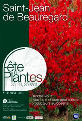 La Fête des Plantes d'automne 2016 à Saint-Jean de Beauregard