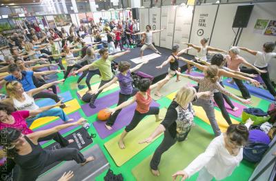 Yoga Festival Paris 2016 à la Villette