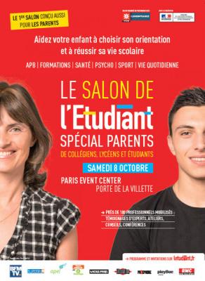Salon de l'étudiant spécial Parents