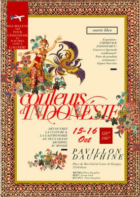 Festival Couleurs d'Indonésie 2016