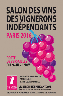 Salon des vins des vignerons ind pendants 2016 la porte for Salon des vins independants
