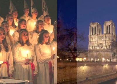 Concert de la Sainte Lucie à Notre Dame de Paris