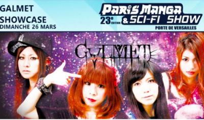 Galmet en showcase pour le Paris Manga & Sci-Fi Show 2017