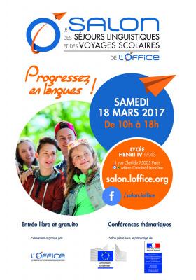 Salon des séjours linguistiques et des voyages scolaires 2016 au lycée Henri IV