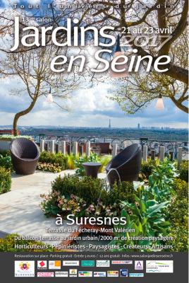 Jardins en Seine 2017 à Suresnes