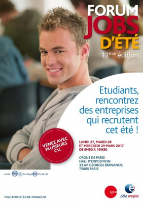 Forum Jobs d'été étudiants 2017