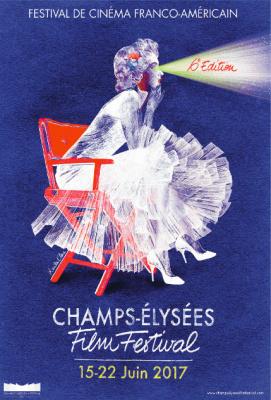 Champs-Elysées Film Festival 2017 : l'affiche dévoilée