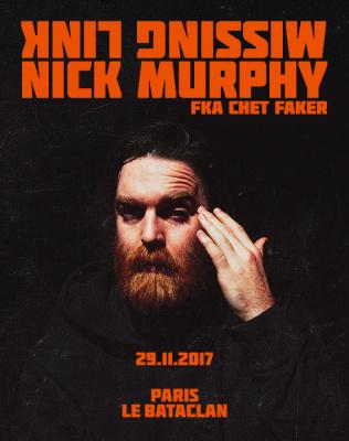 Nick Murphy en concert au Bataclan