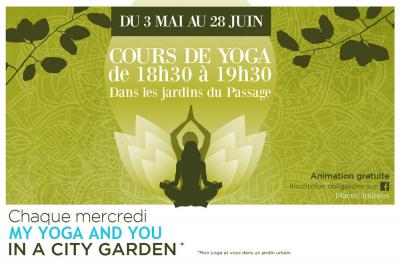 Cours de yoga gratuits au Passage du Havre