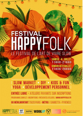 Festival Happy Folk au 88 Ménilmontant
