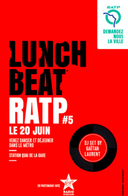 Fête de la Musique 2017 dans le métro : Lunch Beat RATP