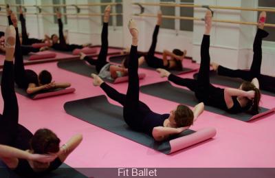 Cours de Fit Ballet aux Galeries Lafayette Haussmann