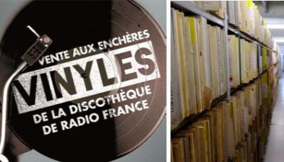 Vente aux enchères de vinyles de la discothèque de Radio France : une deuxième édition !