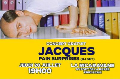 Jacques à la Démesure sur Seine
