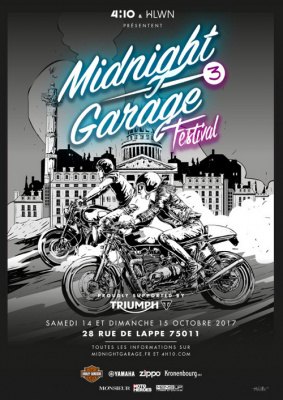 Midnight Garage Festival 2016 à Paris