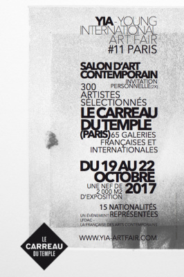 Young International Artists Art Fair 2017 au Carreau du Temple