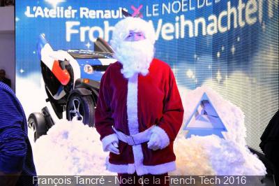 Le Noël de la French Tech à l'Atelier Renault