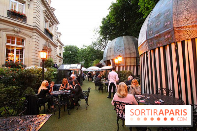 La terrasse Guinguette du Saint James Paris