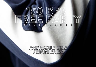 150 BPM Free Party - Fête de la musique