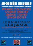 JAZZ A LA JAVA : FRANCK GOLDWASSER & VINCENT BUCHER BLUES BAND