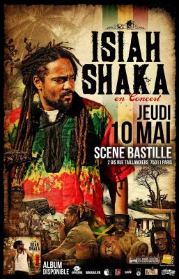 "Isiah Shaka ""l'enfant de la Jasphora"" en concert"