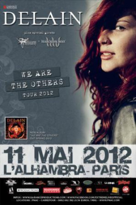 DELAIN « We Are The Others Tour 2012 » + Guests