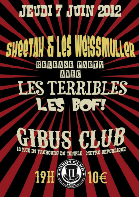 Sheetah & les Weissmuller - Release Party