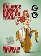 BALANCE MAMAN HORS DU TRAIN : NEO POP ART 10 YEARS BIRTHDAY PARTY