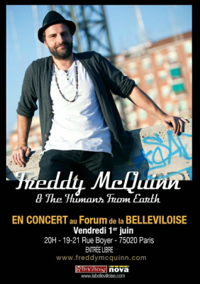 Freddy McQuinn & The Humans From Earth Set Acoustique