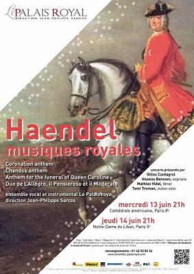 Haendel, Musiques royales