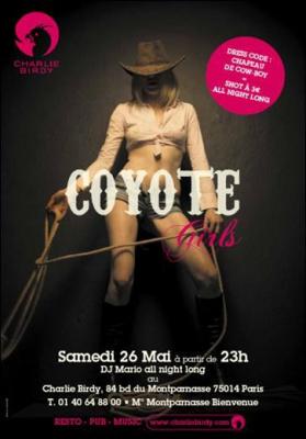 Soirée Coyotte Girl