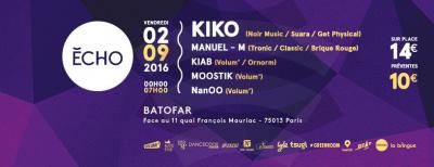 """""""ECHO"""" W/ Kiko & Manuel M' live"""