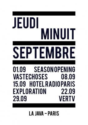 JEUDI MINUIT INVITE HOTEL RADIO PARIS
