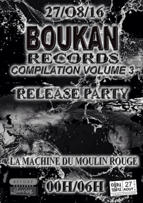Dada Temple invite Boukan Records : The Busy Twist, Dj Lycox, Boukan Djs