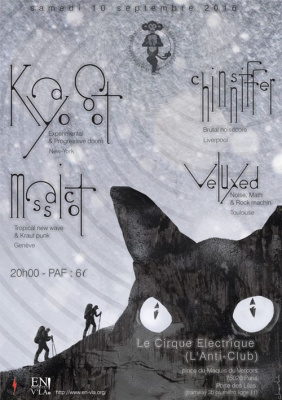 Kayo Dot + Massicot + Chinsniffer + Veluxed