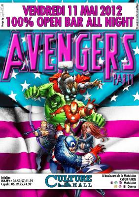 Avengers - Open Bar