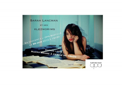Sarah Lancman et ses Klezmorims