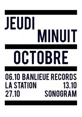 JEUDI MINUIT INVITE LA STATION
